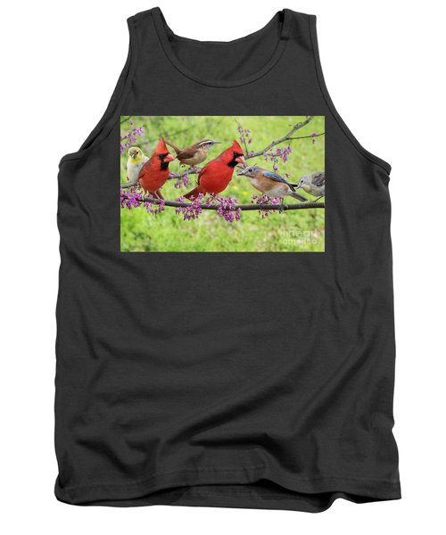 Tank Top featuring the photograph Is It Spring Yet? by Bonnie Barry