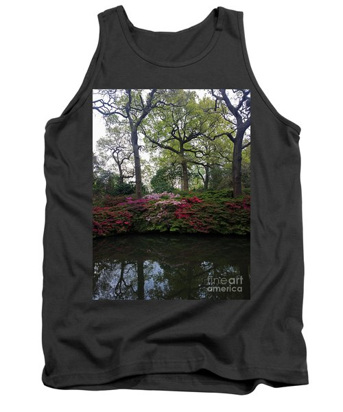 Tank Top featuring the photograph Isabella Plantation by Hanza Turgul