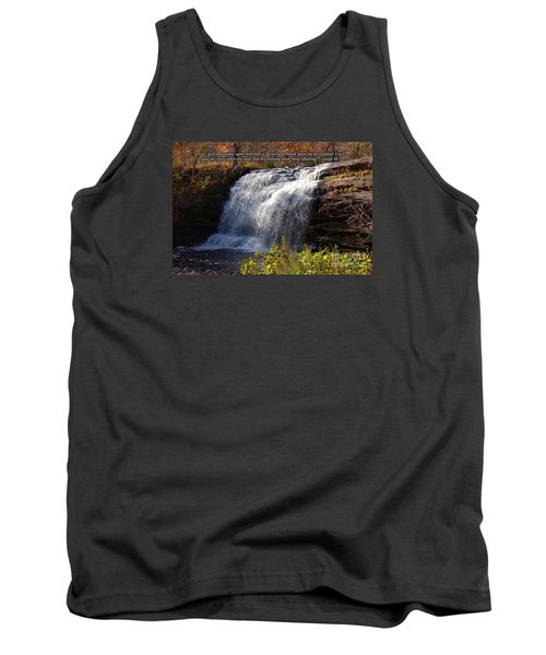 Tank Top featuring the photograph Isaiah 44 by Diane E Berry