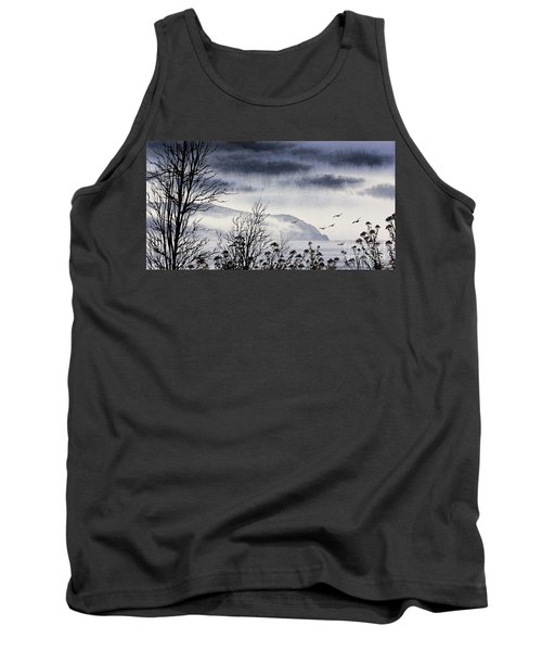 Tank Top featuring the painting Island Solitude by James Williamson