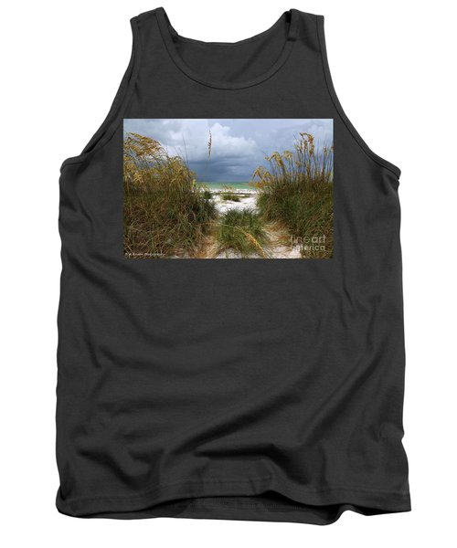Island Trail Out To The Beach Tank Top
