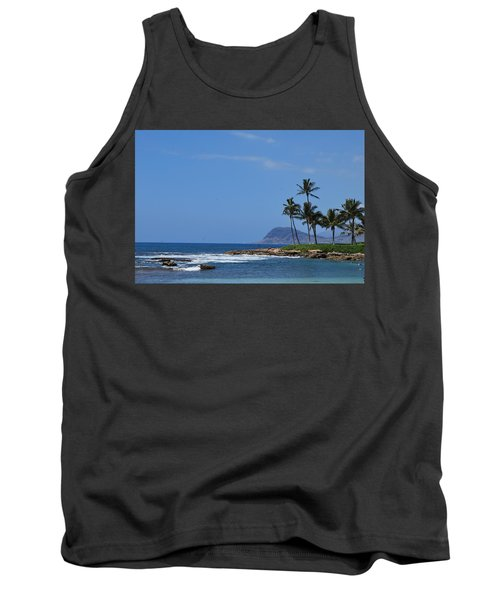 Tank Top featuring the photograph Island View by Amee Cave