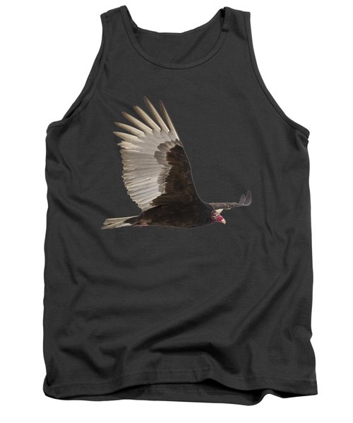 Isolated Turkey Vulture 2014-1 Tank Top