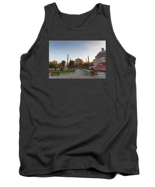 Tank Top featuring the photograph Istanbul City Center by Yuri Santin
