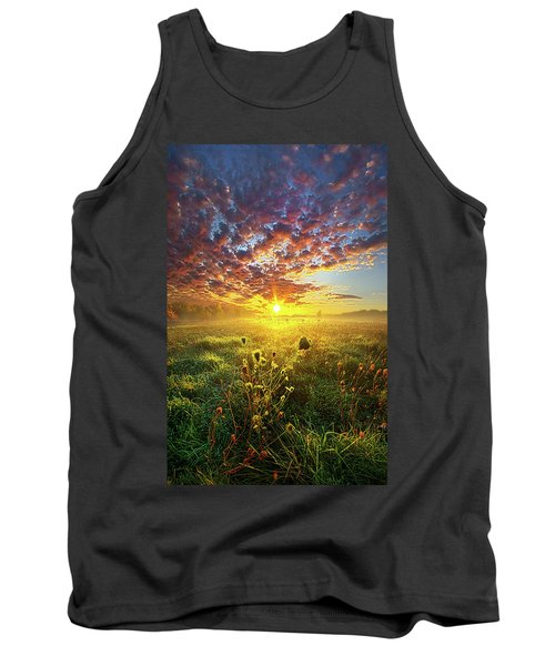 It Begins With A Word Tank Top