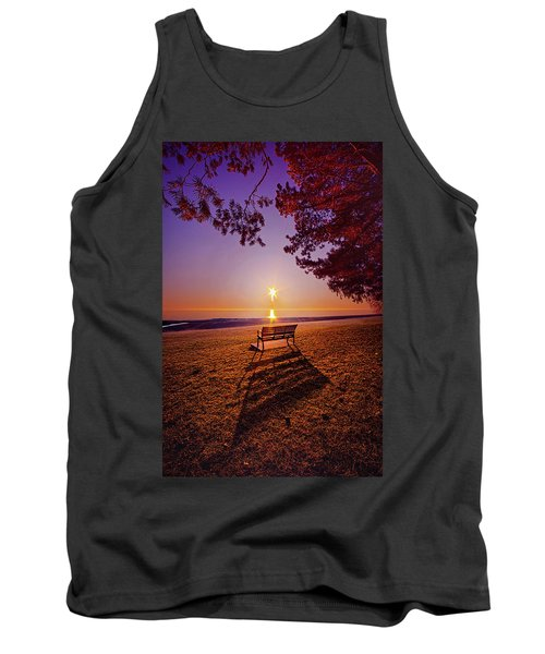 Tank Top featuring the photograph It Is Words With You I Seek by Phil Koch