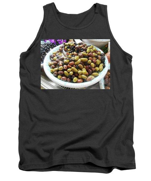 Italian Market Olives Tank Top
