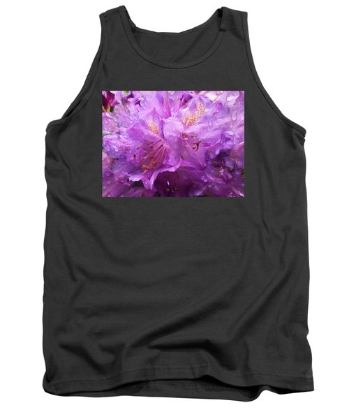 Tank Top featuring the mixed media It's A Rainy Day by Gabriella Weninger - David