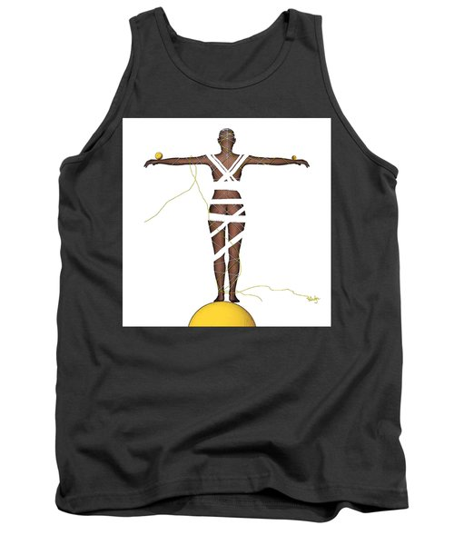It's All In Your Head Tank Top by Sladjana Lazarevic