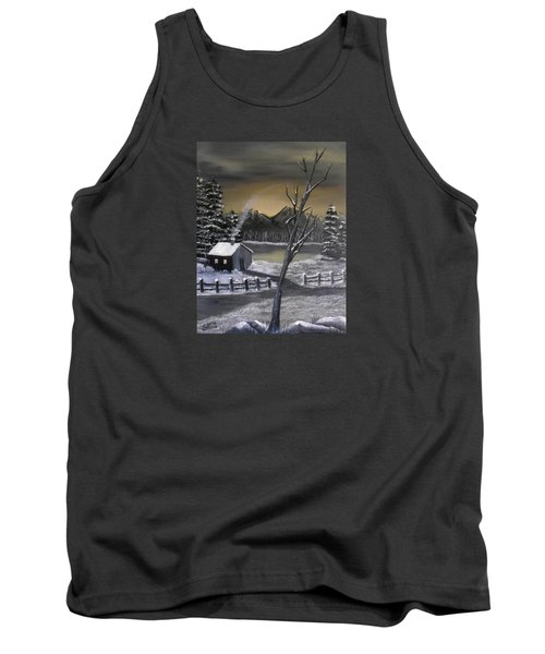 It's Cold Outside Tank Top by Sheri Keith
