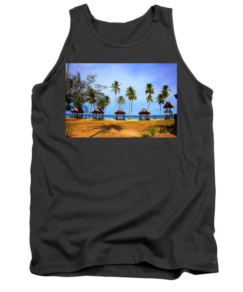 It's Real And Close Tank Top by Jez C Self