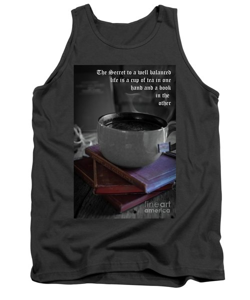 Tank Top featuring the photograph It's Tea Time by Deborah Klubertanz