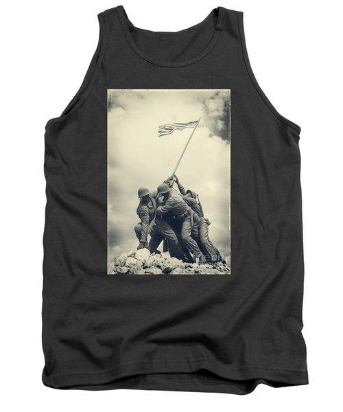 Iwo Jima Monument Tank Top
