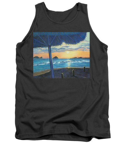 Tank Top featuring the painting Ixtapa by Susan DeLain
