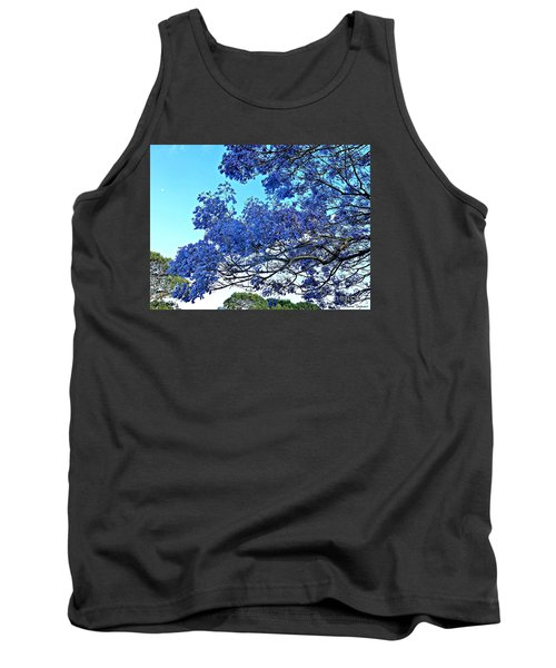 Jacaranda And The Moon Tank Top
