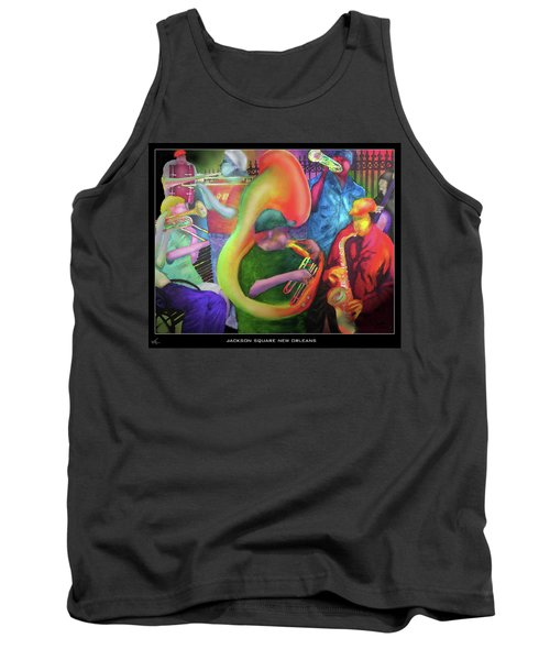 Jackson Square New Orleans Tank Top