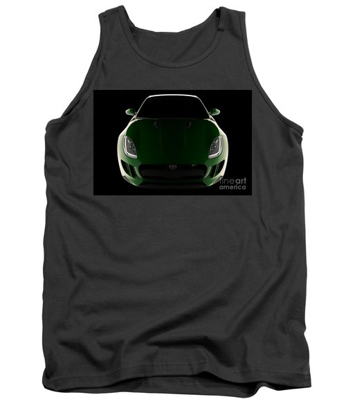 Jaguar F-type - Front View Tank Top