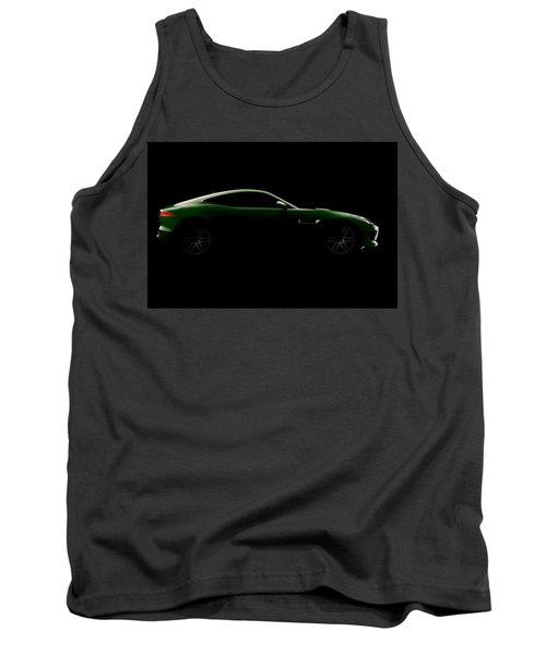 Jaguar F-type - Side View Tank Top