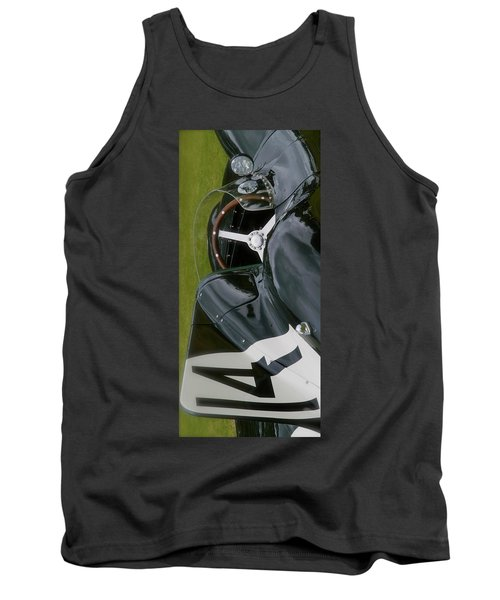 Jaguar Racing Car Smart Phone Case Tank Top by John Colley