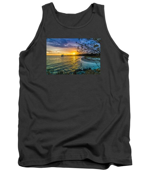James Island Sunrise - Melton Peter Demetre Park Tank Top