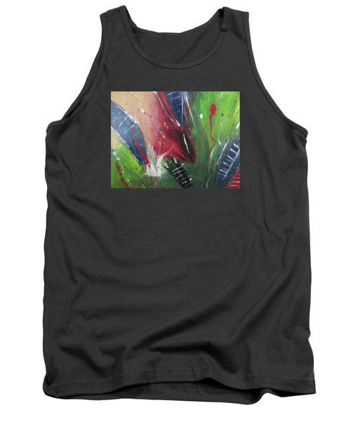 Tank Top featuring the pastel Jammin by Sharyn Winters