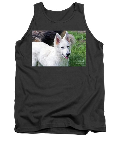 Janie As A Pup Tank Top