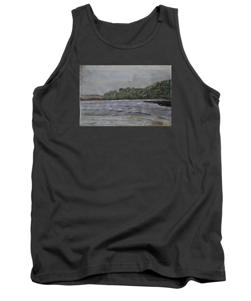 Tank Top featuring the painting Janjira Palace by Vikram Singh