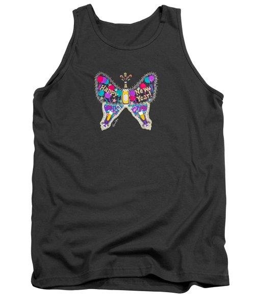 January Butterfly Tank Top