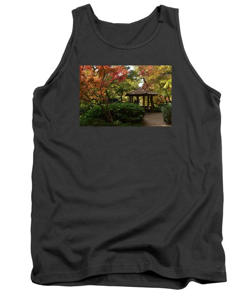 Tank Top featuring the photograph Japanese Gardens 2577 by Ricardo J Ruiz de Porras