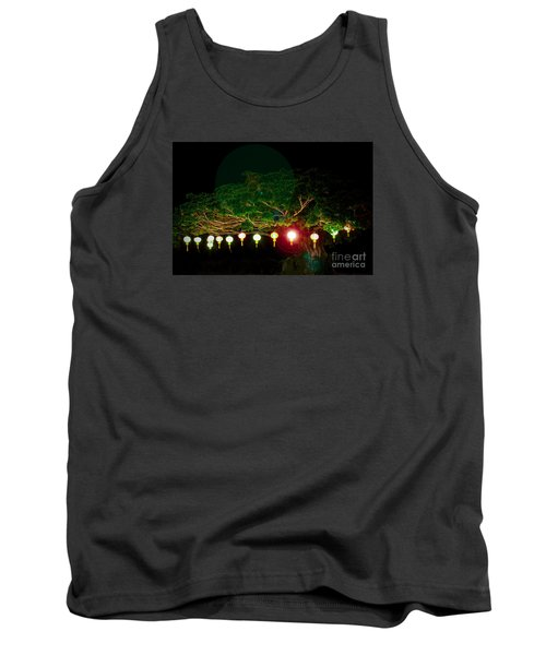 Japanese Lantern Tree Tank Top