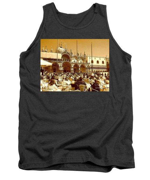 Jazz In Piazza San Marco Tank Top