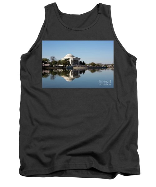 Jefferson Memorial Cherry Blossom Festival Tank Top