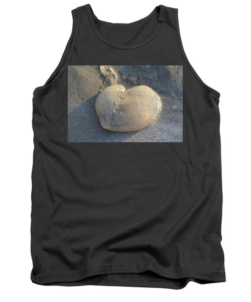 Jellyfish With A Big Heart Tank Top