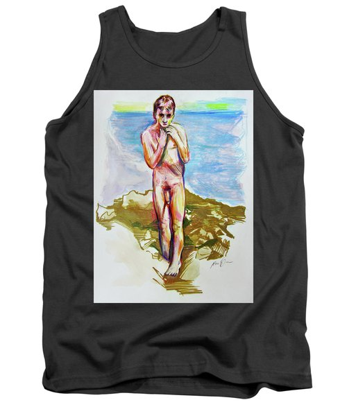 Jeremy At The Beach Tank Top