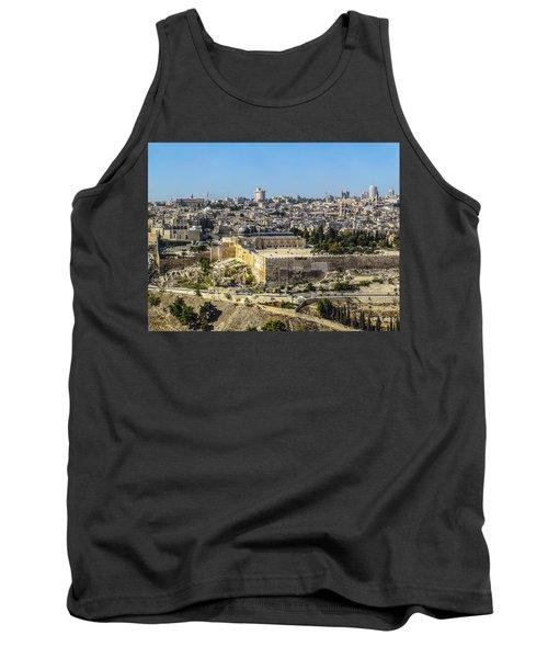 Jerusalem Of Gold Tank Top