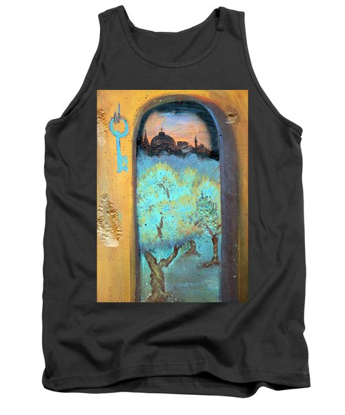 Jerusalem Key Tank Top