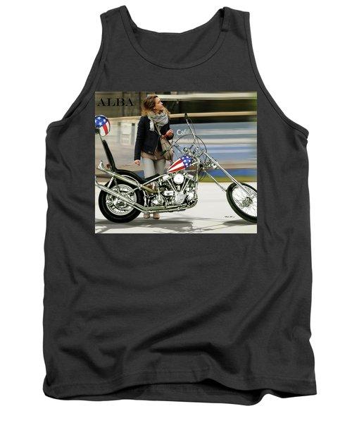 Jessica Alba, Captain America, Easy Rider Tank Top