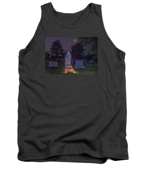 Jessie Monument Under The Blood Moon Tank Top by Stephen  Johnson