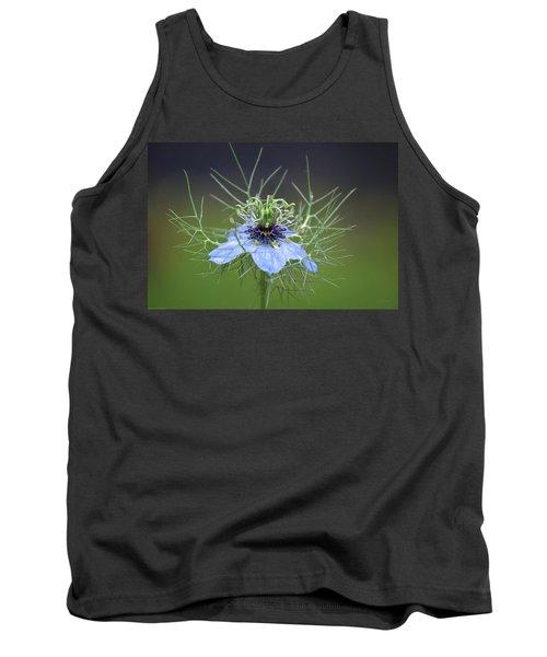 Jester's Hat Flower Tank Top
