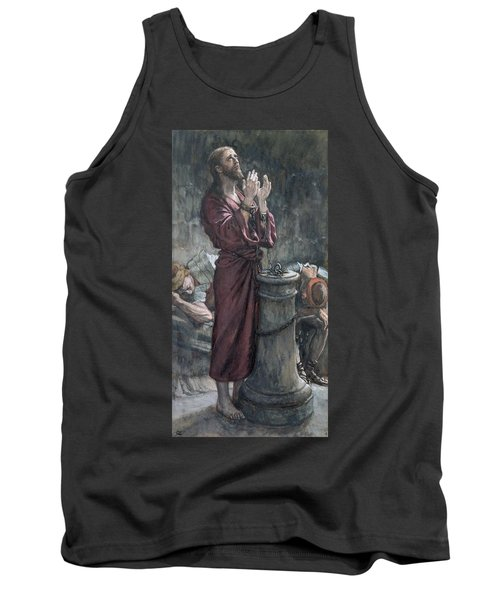 Jesus In Prison Tank Top