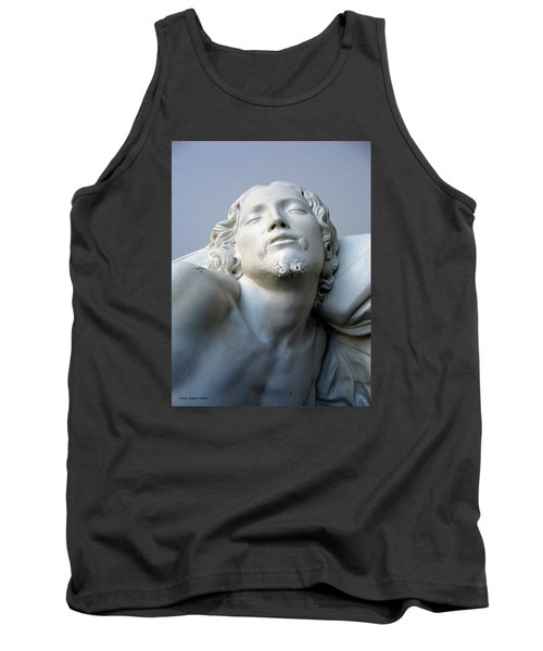 Tank Top featuring the sculpture Jesus by Suhas Tavkar