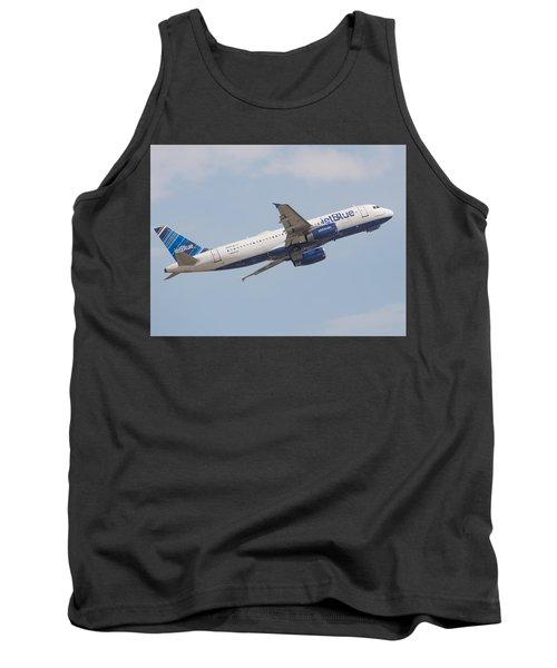 Jet Blue Tank Top