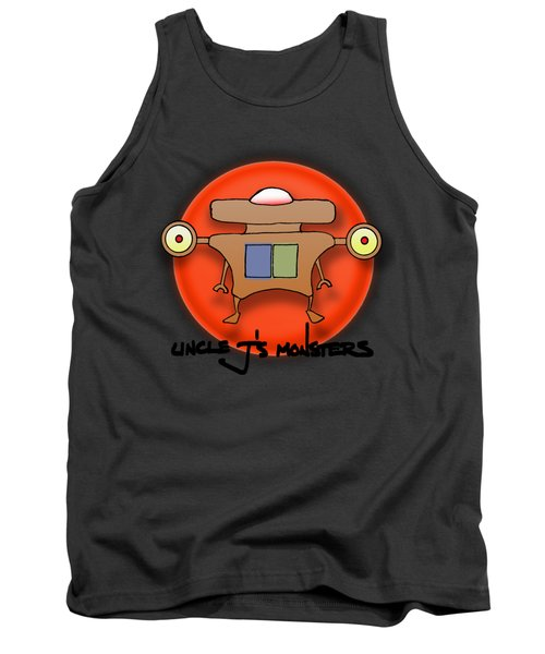 Jet Paq Tank Top by Uncle J's Monsters