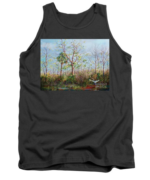 Jim Creek Lift Off Tank Top by AnnaJo Vahle
