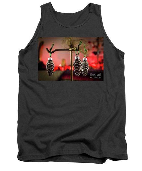 Jingle Pinecones Tank Top