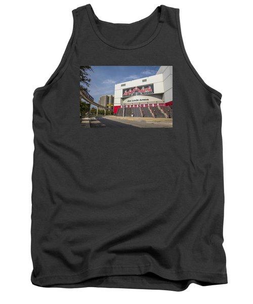 Joe Louis Arena Detroit  Tank Top