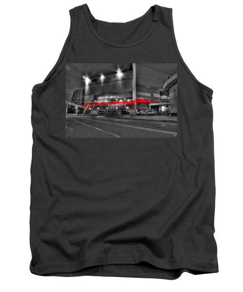 Joe Louis Arena Detroit Mi Tank Top by Nicholas  Grunas
