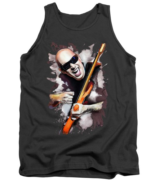 Joe Satriani Tank Top by Melanie D