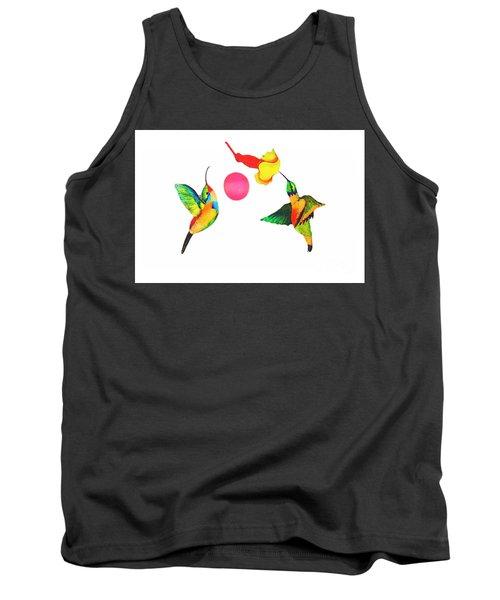 Joe's Hummingbird Art Tank Top