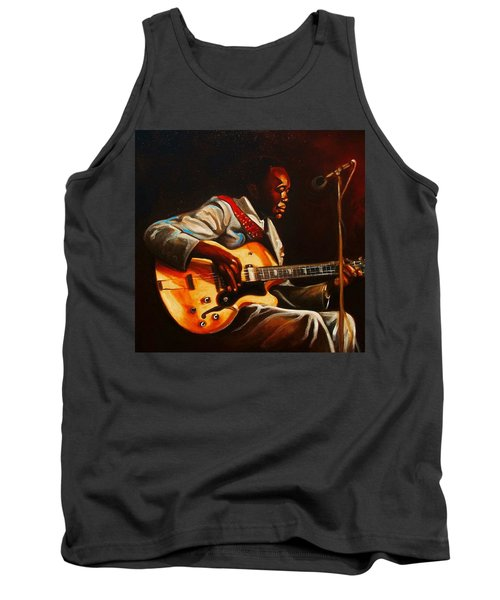 Tank Top featuring the painting John Lee by Emery Franklin
